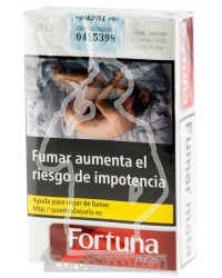Fortuna Red Soft 200 CIGARETTES CARTOON BOX