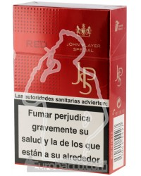 JPS Red 200 CIGARETTES CARTOON BOX