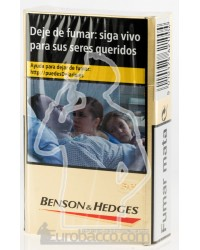Benson & Hedges Gold 200 CIGARETTES CARTOON BOX